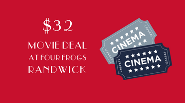 Four frogs > $32 Movie deal