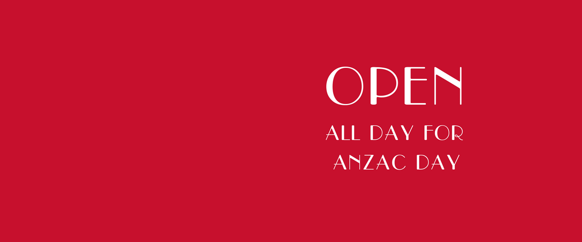Four Frogs creperie - OPEN for ANZAC DAY