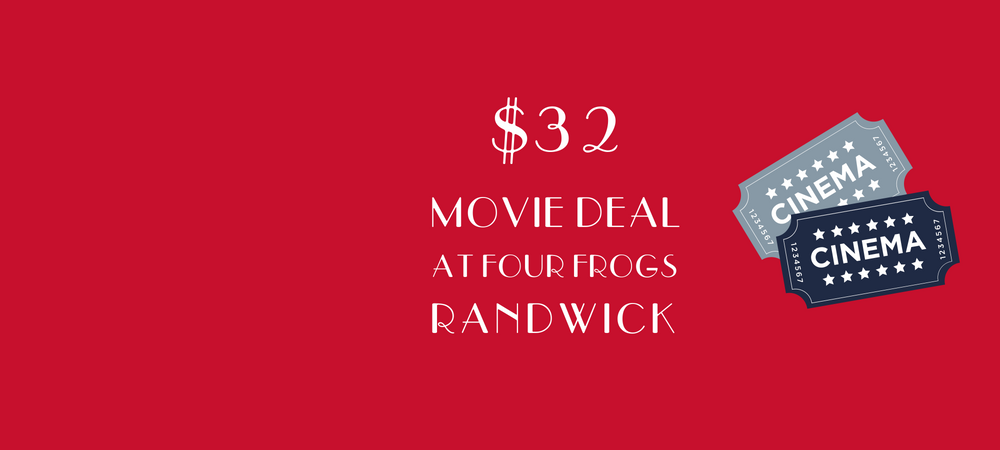 Four Frogs Creperie - Movie Deal Randwick