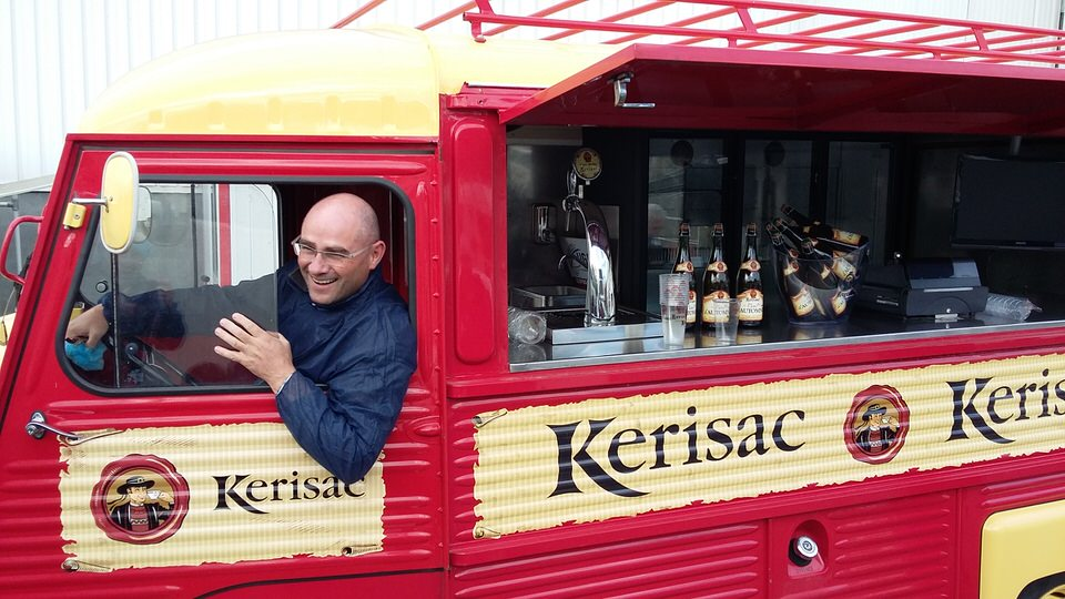 Image of Kerisac cider van