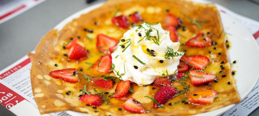 Four Frogs Creperie - December Specials