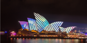 Vivid Sydney at Four Frogs