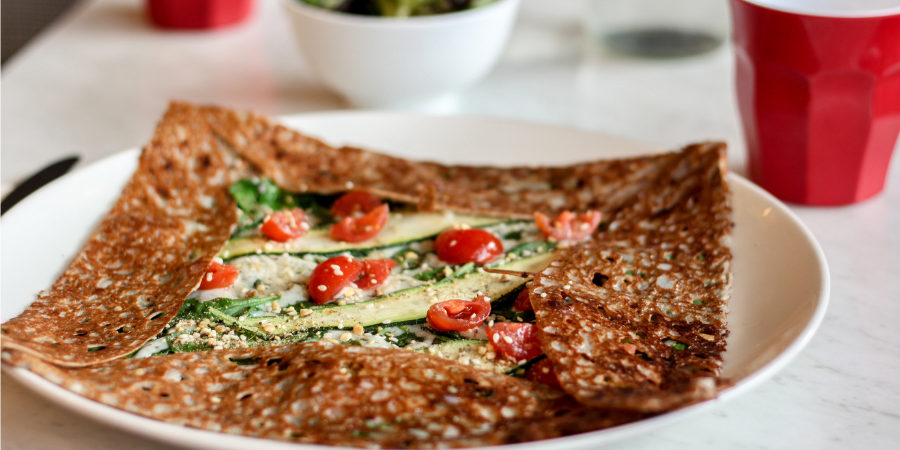 Four Frogs creperie - vegetarienne