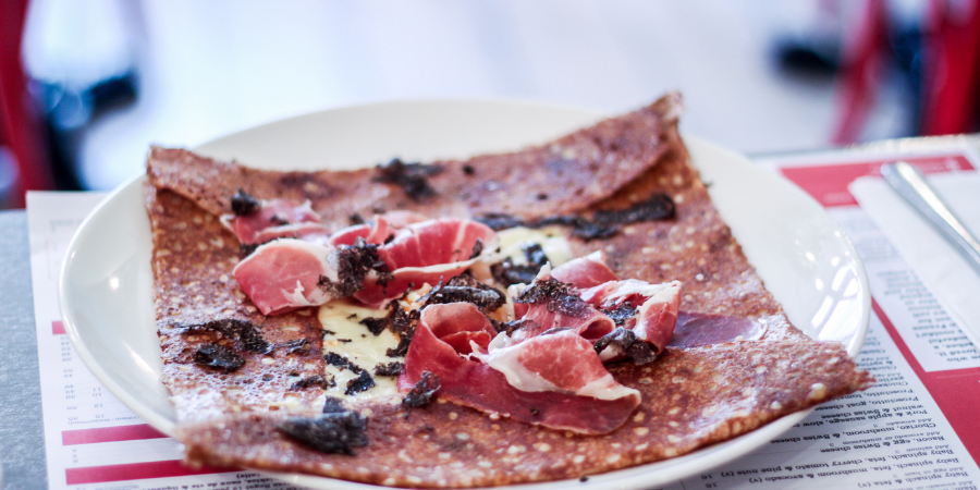 Four frogs creperie - Truffle crepe