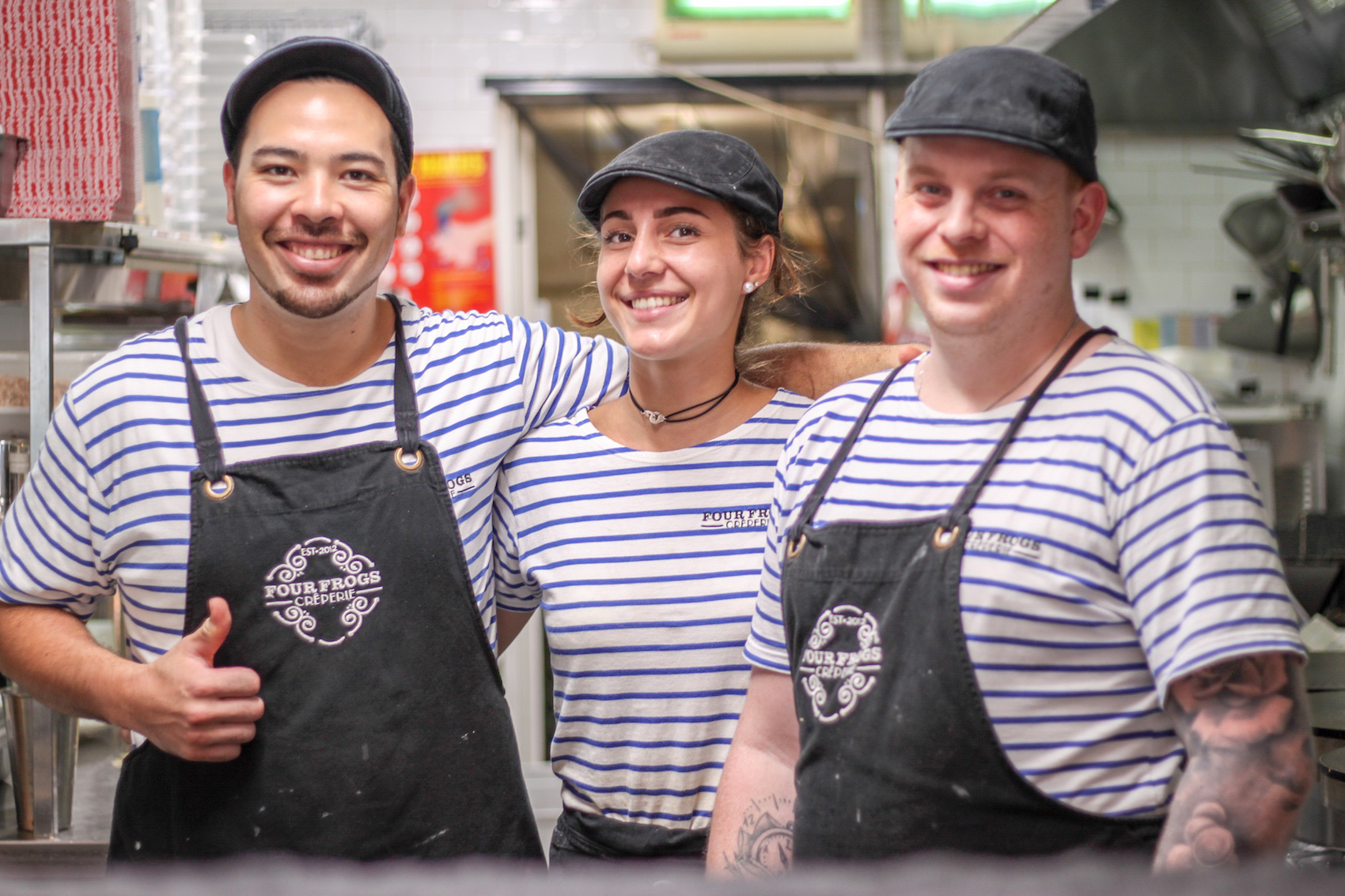 Four Frogs creperie - Randwick Team