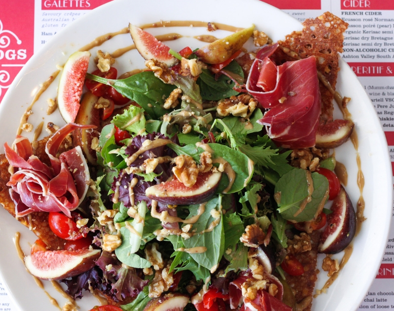 Four Frogs creperie - Fig salad